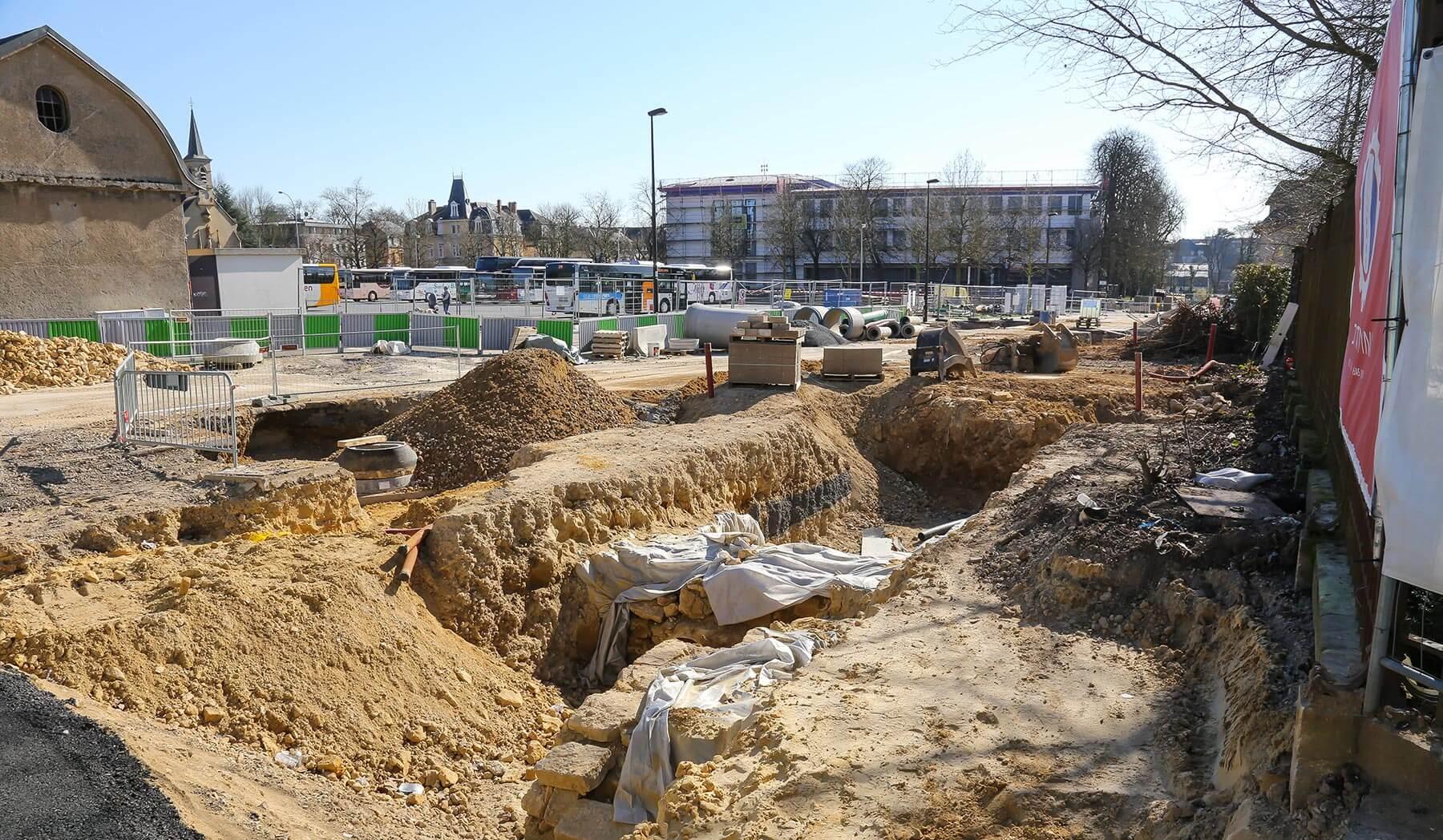 Actualit sur les chantiers et la constructions au luxembourg for Piscine au luxembourg